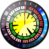 Screenshot: Disk Clock